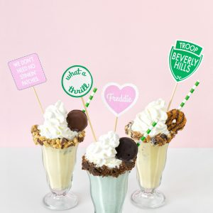 Troop Beverly Hills Girl Scout Cookie Milkshakes