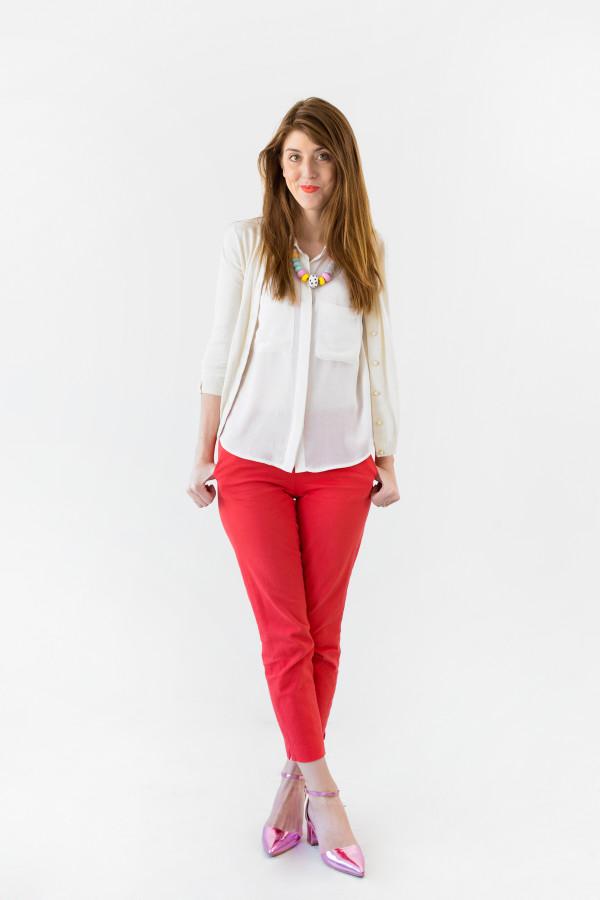 Casual Work Outfit Ideas | studiodiy.com
