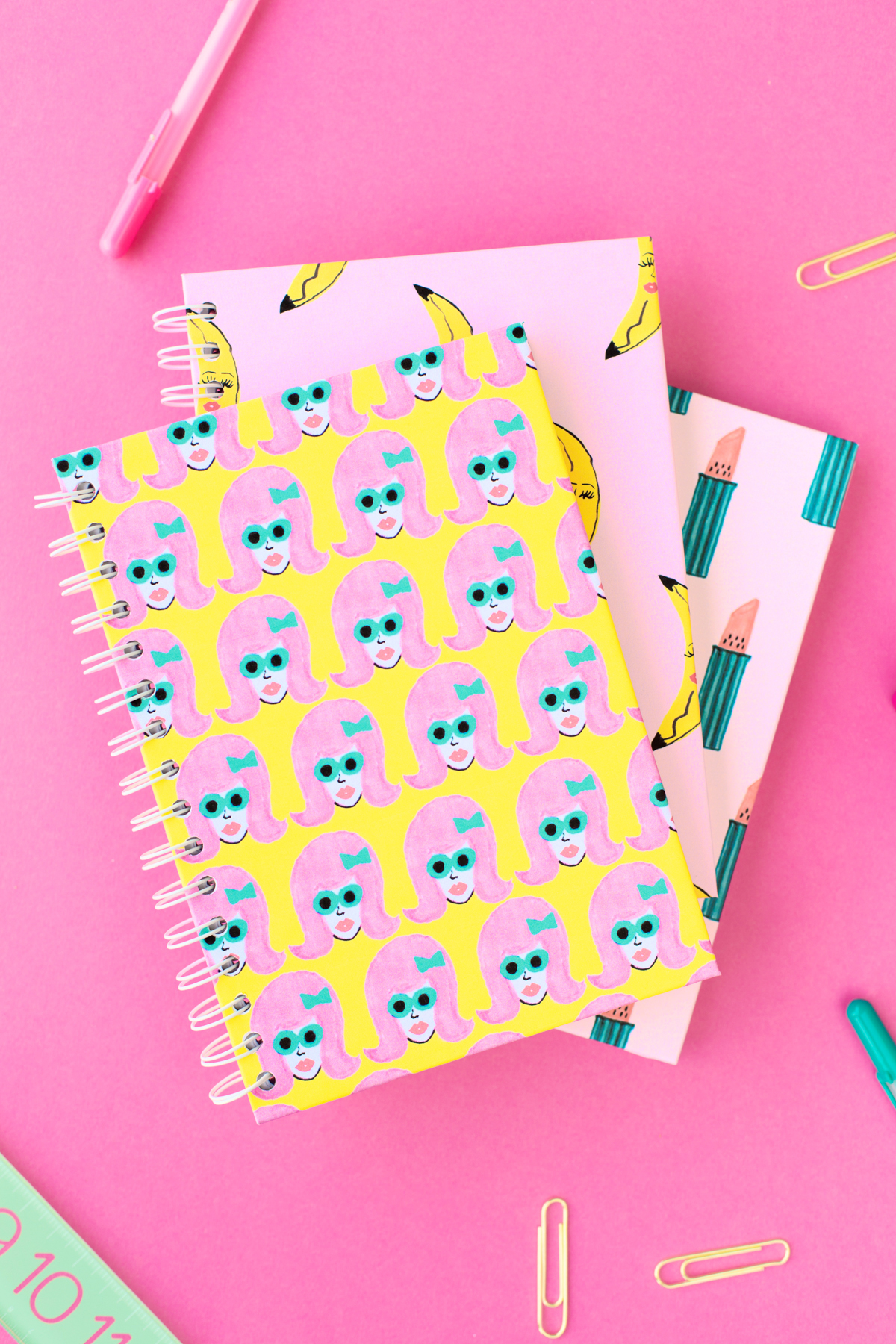 How To Cover A Notebook With Cover Paper ~ Free printable boss lady notebook covers studio diy
