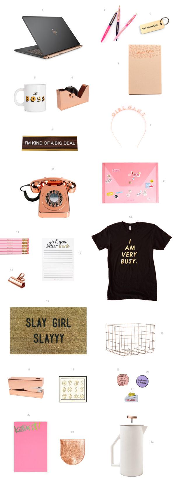 Boss Babe Product Obsessions | studiodiy.com