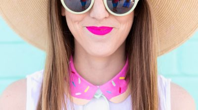 DIY Painted Donut Collar | studiodiy.com