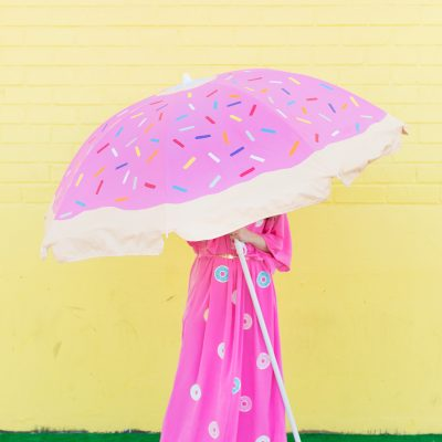 DIY Donut Beach Umbrella