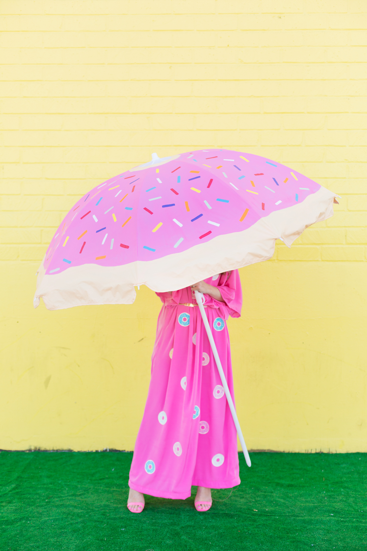 Diy Donut Beach Umbrella Studio Diy