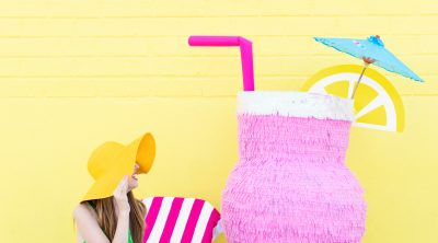 DIY Tropical Drink Piñata | studiodiy.com