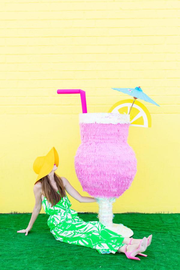DIY Tropical Drink Piñata | studiodiy.com