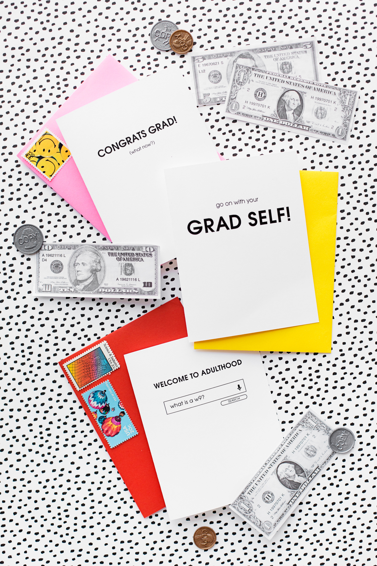 photograph about Printable Grad Cards called Welcome toward Adulthood: Totally free Printable Commencement Playing cards