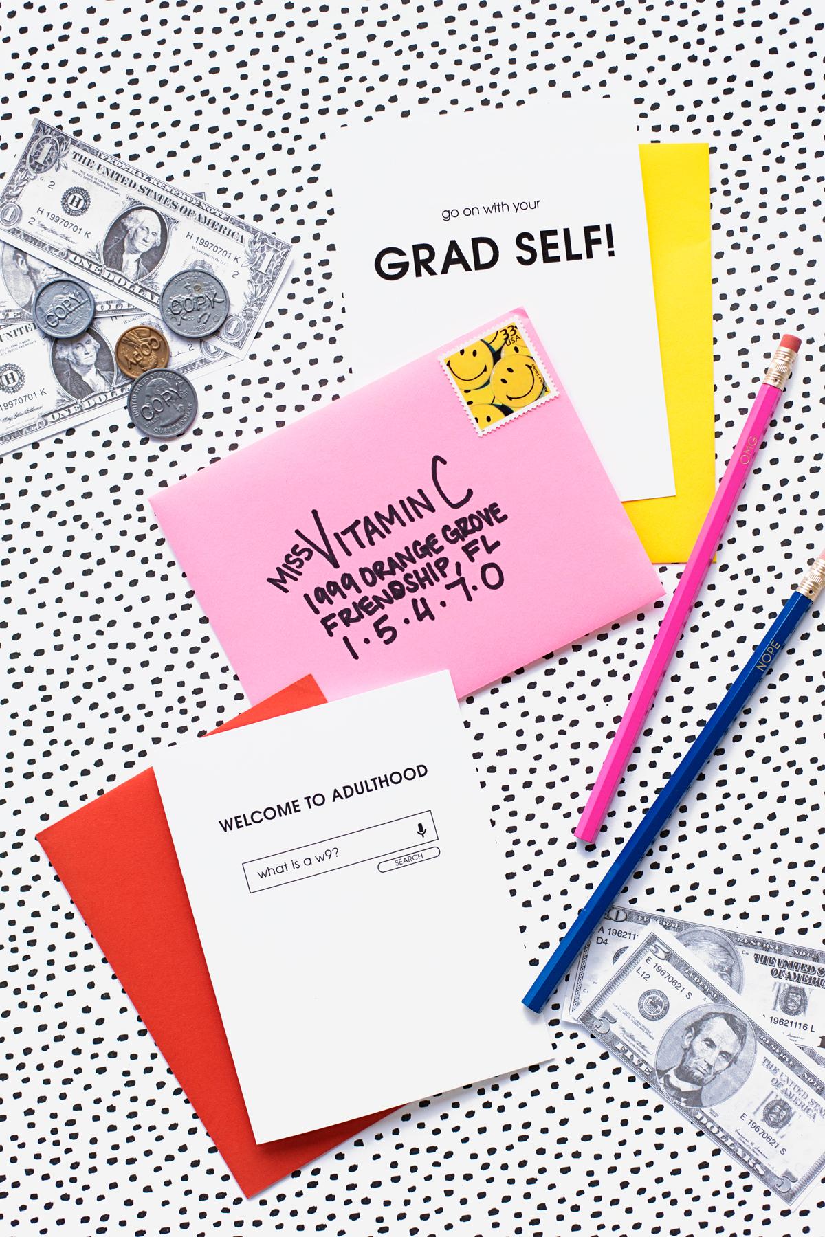 welcome to adulthood  free printable graduation cards