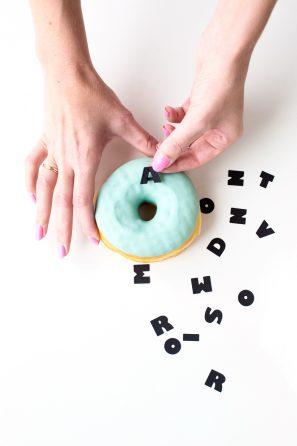 Graphic Donuts | studiodiy.com