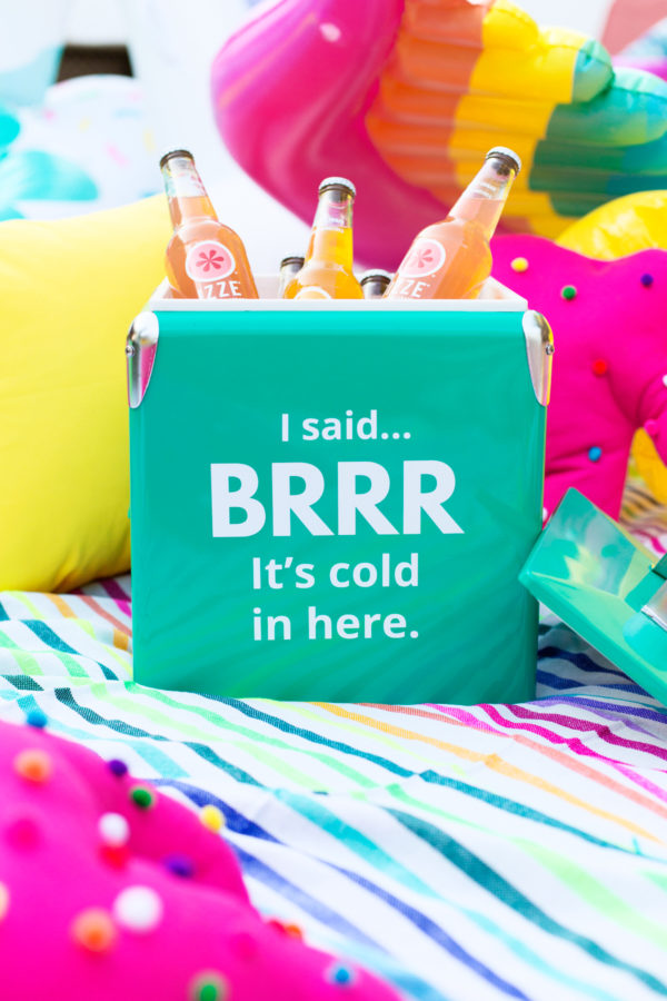 I SAID! Brr... It's Cold In Here Cooler | studiodiy.com