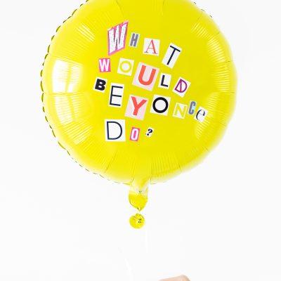 DIY Ransom Note Balloons