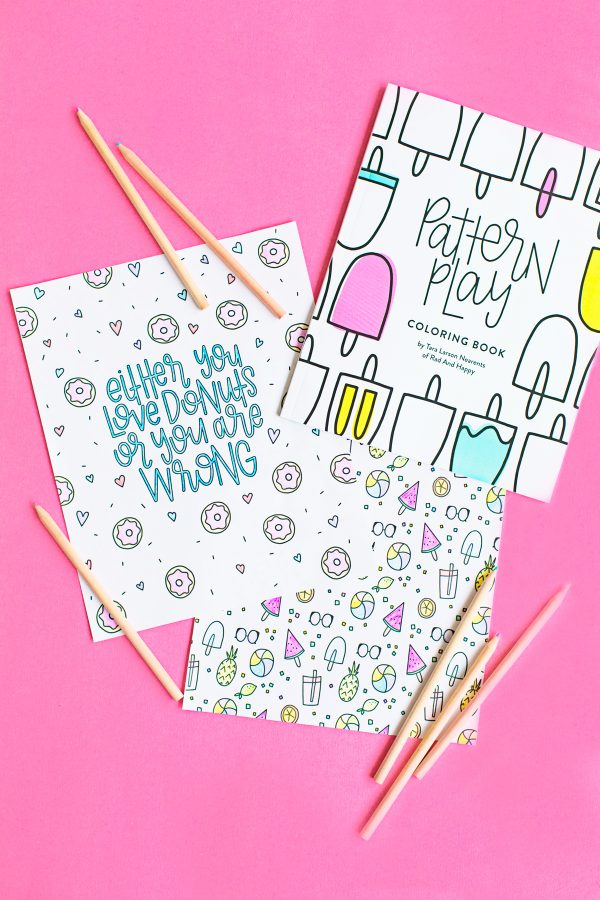 Free Printable Sweet Treats Coloring Pages Studio DIY
