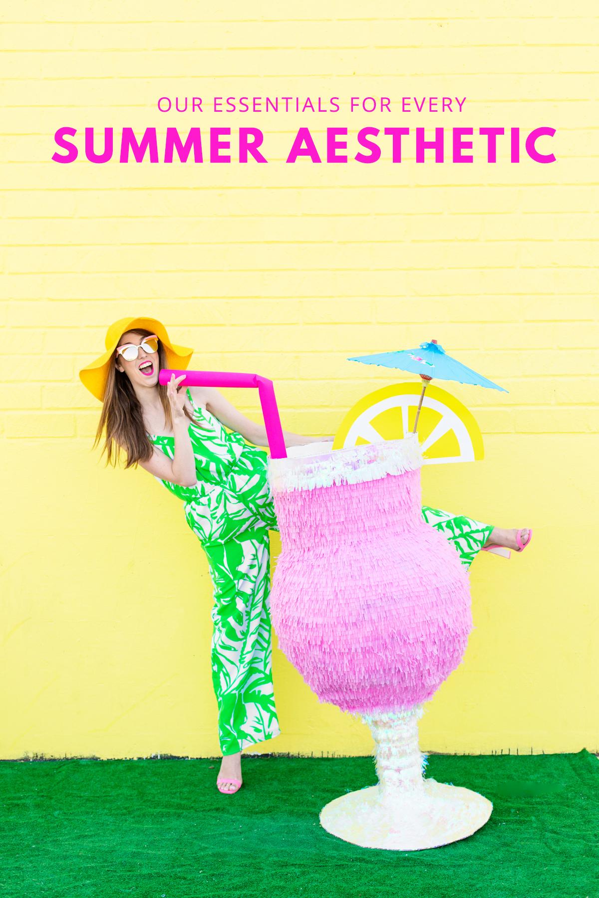 What S Your Summer Aesthetic Studio Diy