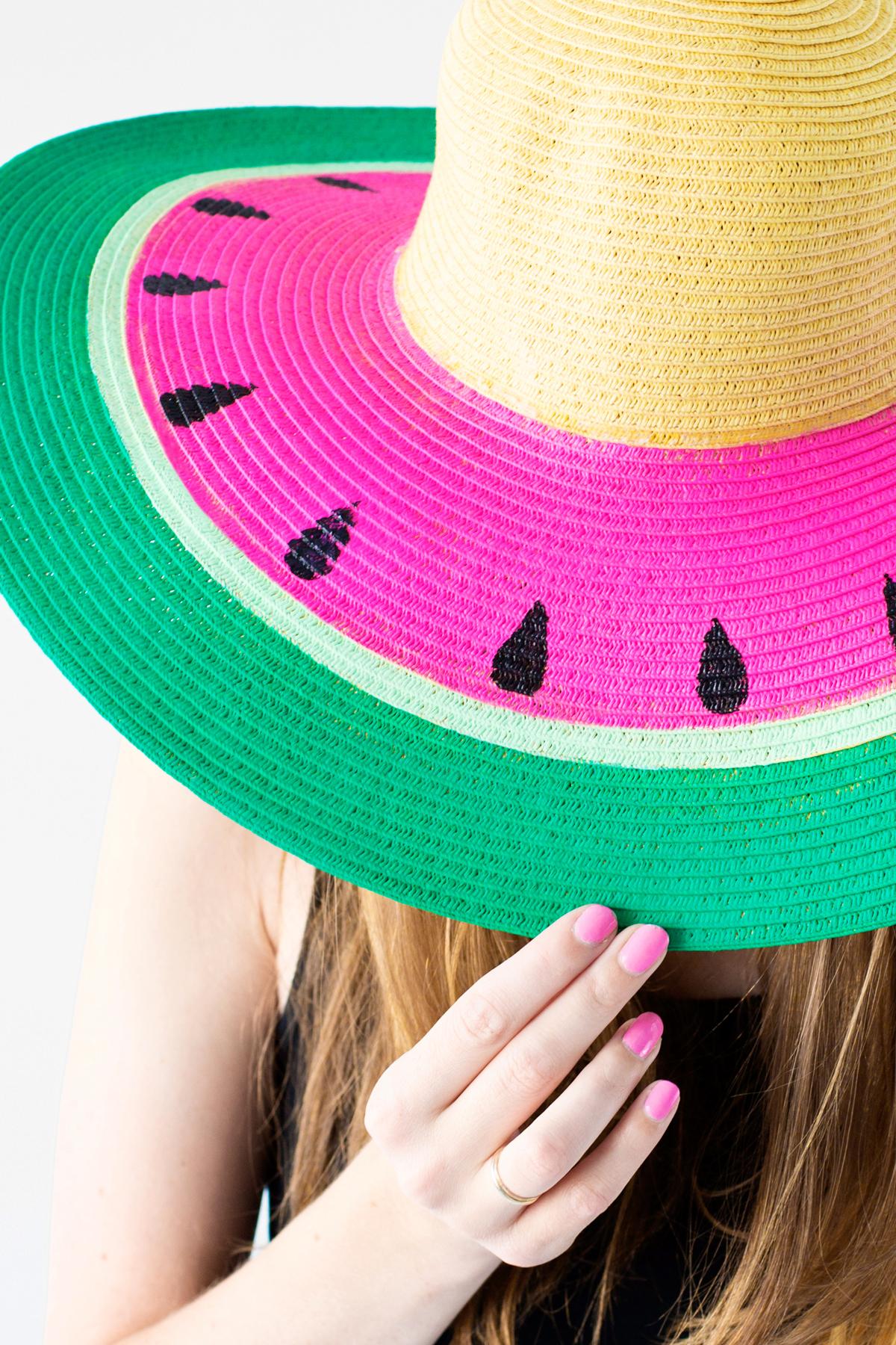 Diy watermelon floppy hat studio diy for Diy pictures