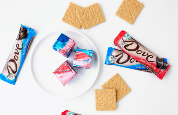 Tie Dye Fourth of July S'mores | studiodiy.com