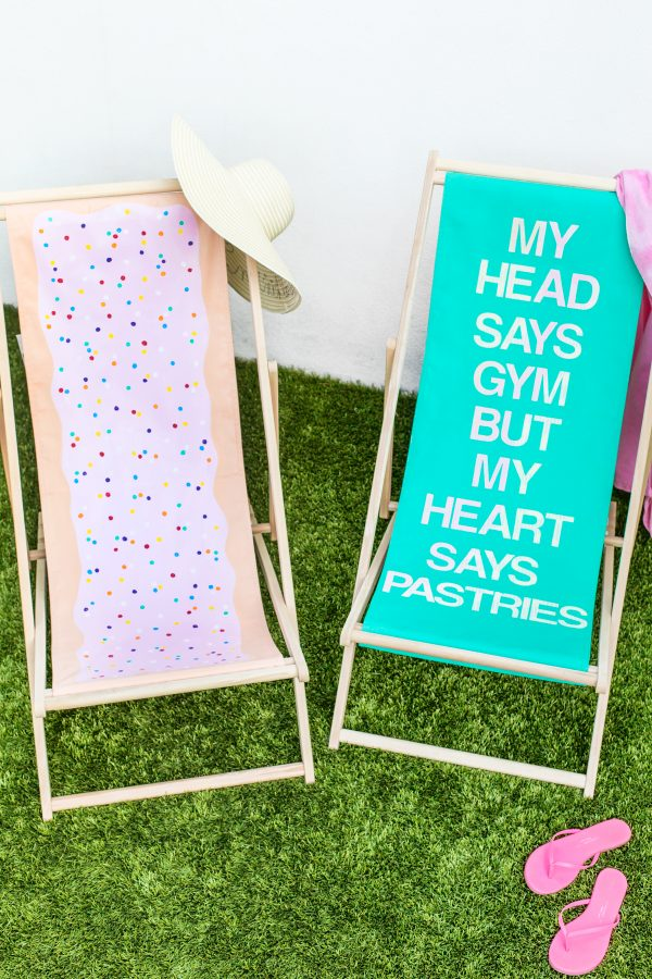 DIY Sling Beach Chair Makeovers | studiodiy.com