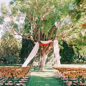 Colorful Palm Springs Wedding Ceremony