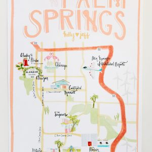 Palm Springs Wedding Map