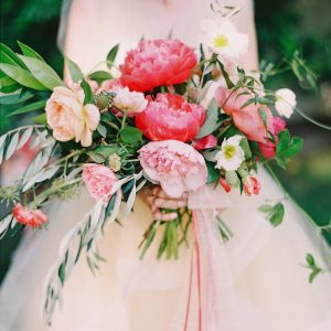 Colorful Palm Springs Wedding Bouquet