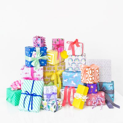 Six Awesome Birthday Gift Wrap Pairings