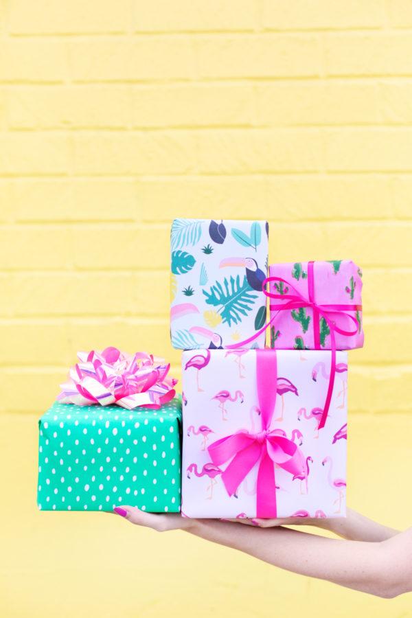 Our Favorite Birthday Gift Wrap Pairings | studiodiy.com