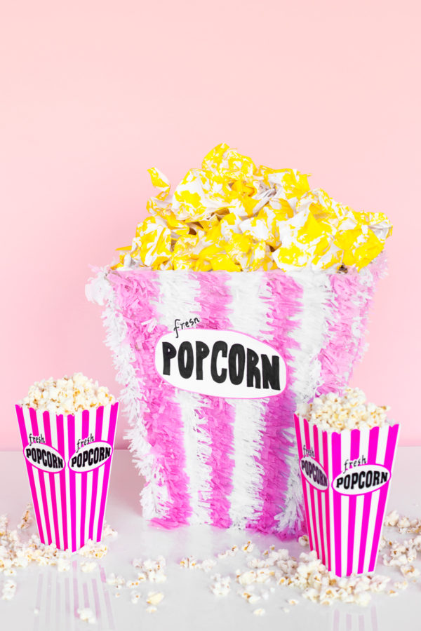 DIY Popcorn Piñata | studiodiy.com
