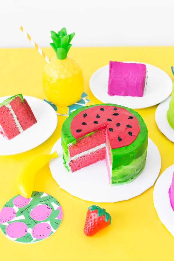 DIY Fruit Slice Cakes   studiodiy.com