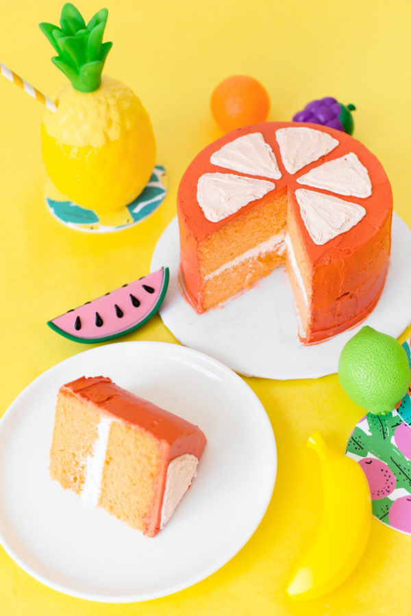 DIY Fruit Slice Cakes | studiodiy.com