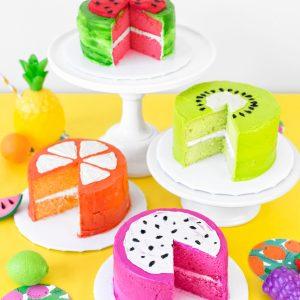 Fruit Slice Cakes