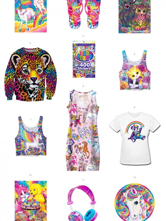 Lisa Frank Products You Can Buy RIGHT NOW!