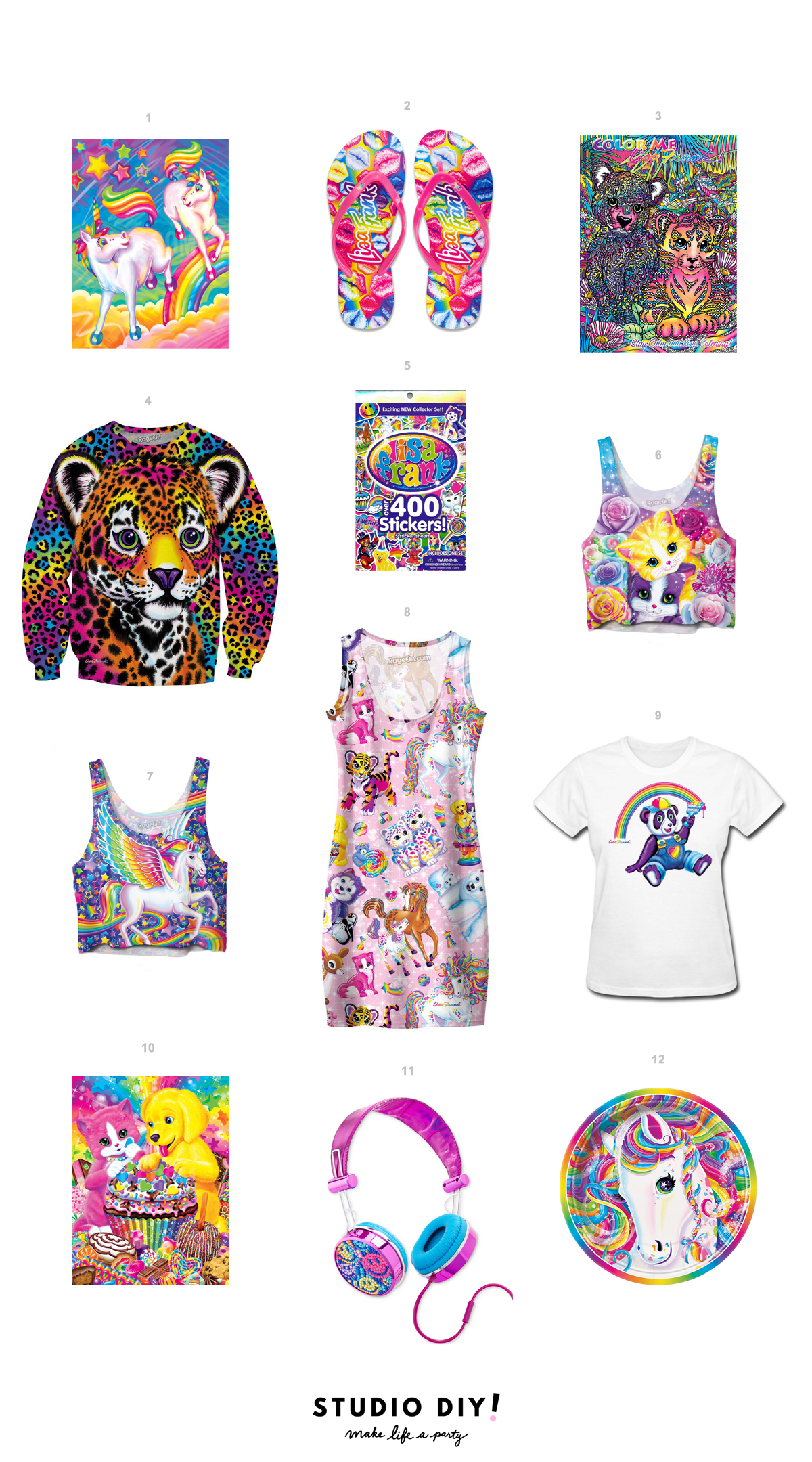 Lisa Frank Products You Can Buy RIGHT NOW Studio DIY