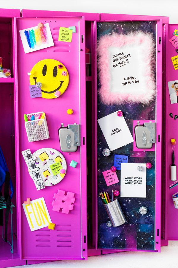 DIY Locker Decor | studiodiy.com