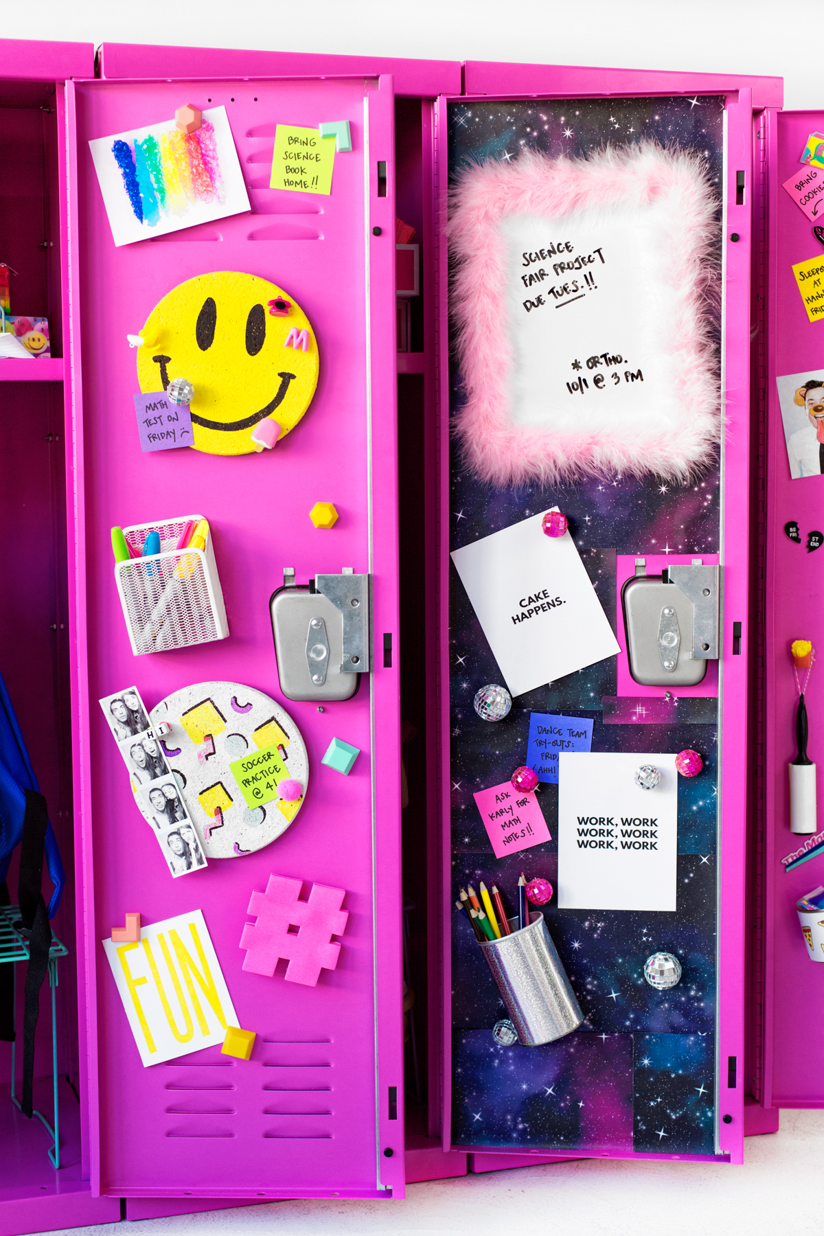 Diy locker decor ideas studio diy for Decoration stuff