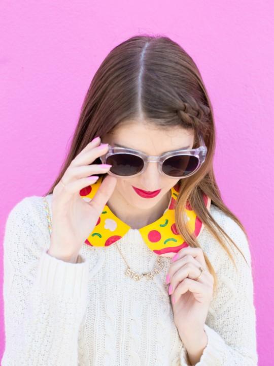 DIY Pizza Collar
