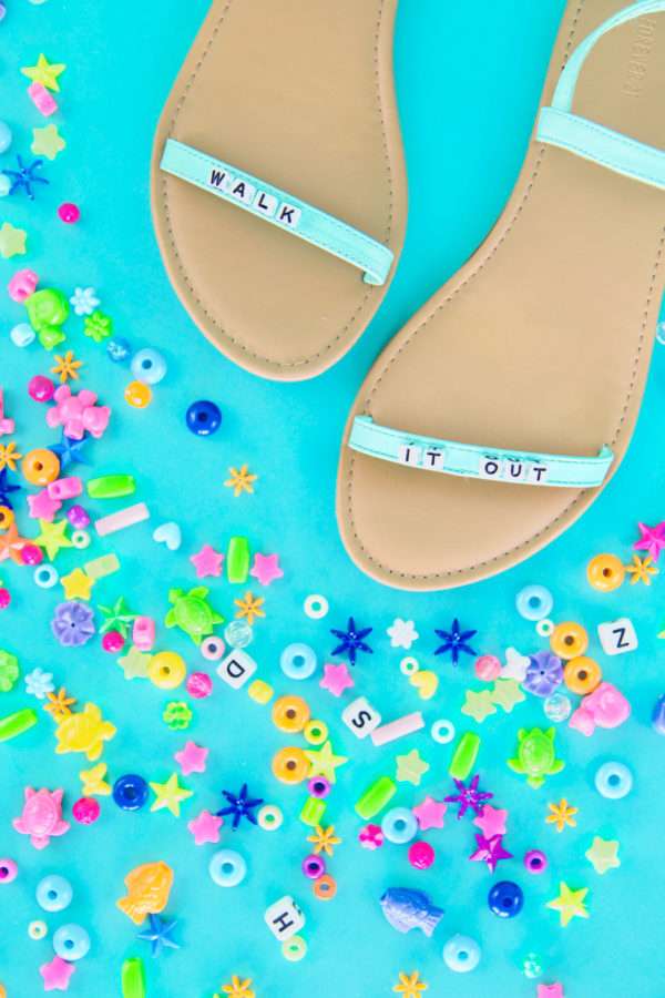 Five DIY Sandal Hacks
