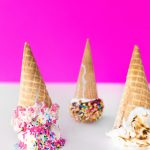 Three Ways to Jazz Up Ice Cream Cones