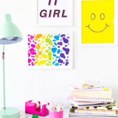 Three DIY Wall Art Ideas for Under $10!