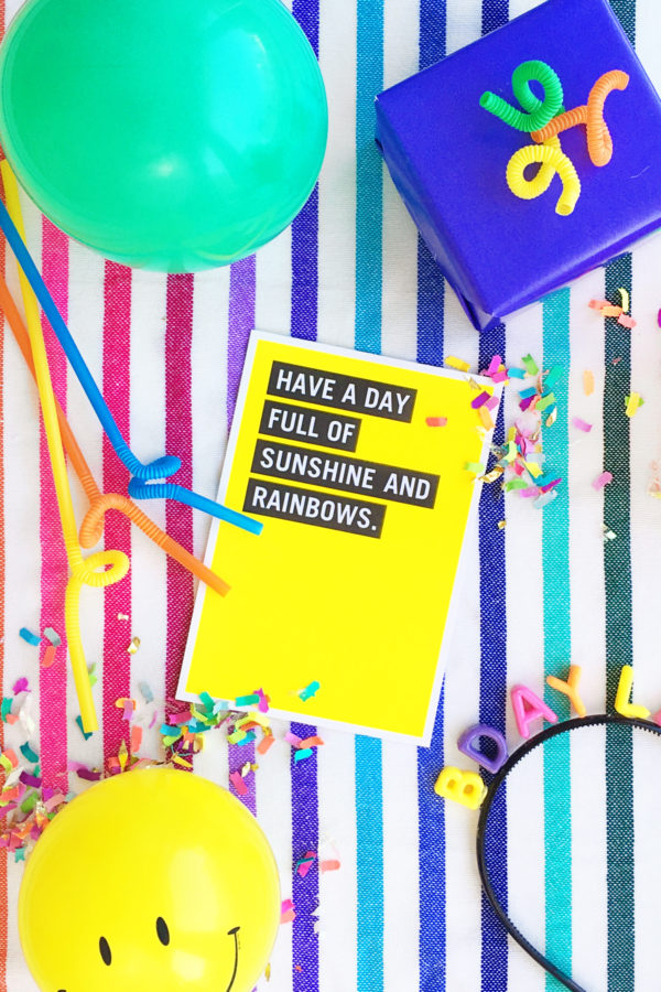 Six Party Hacks for a Colorful Birthday!