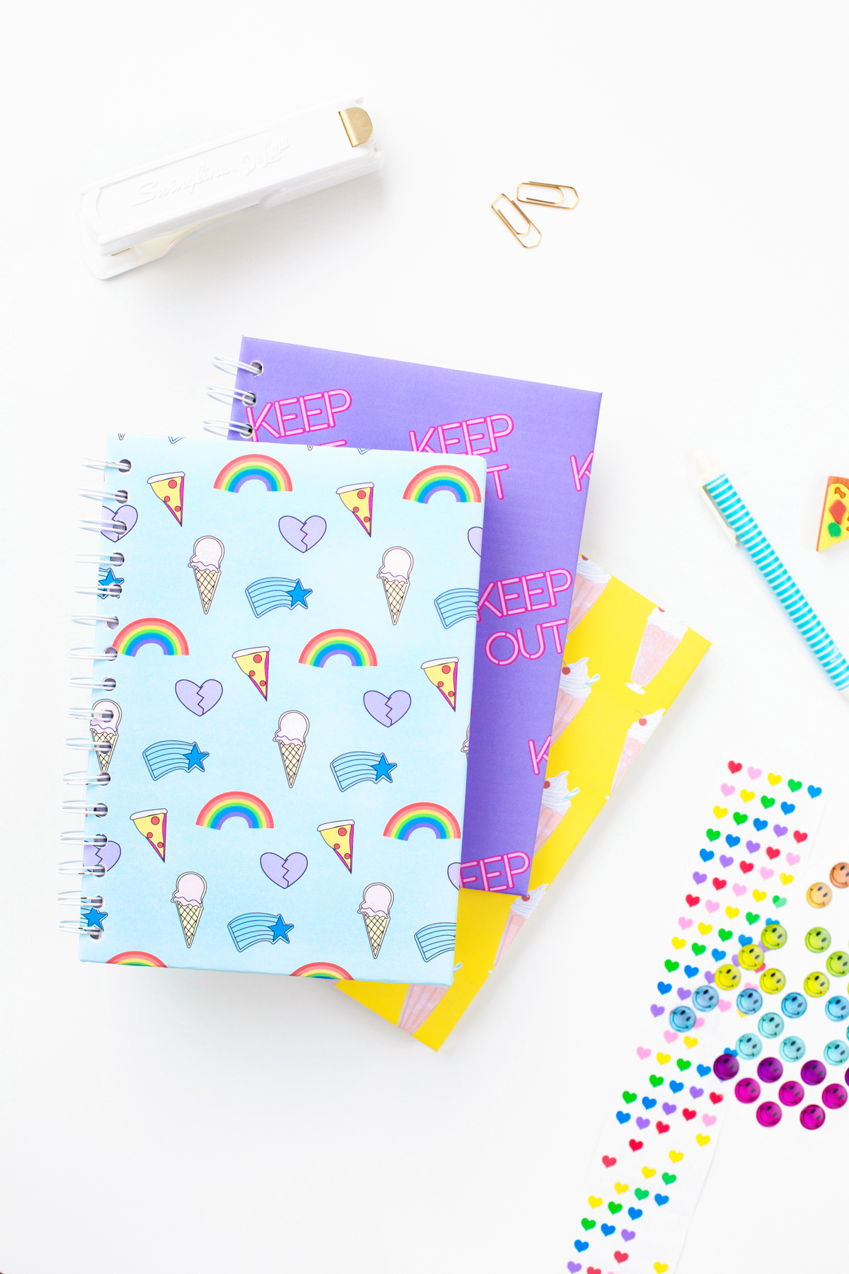 How To Cover A Notebook With Cover Paper ~ Three more free printable notebook covers studio diy
