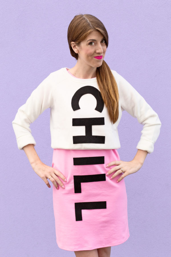 DIY Chill Pill Costume