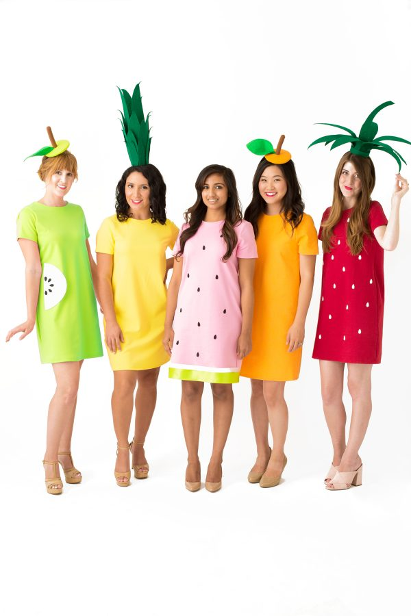 DIY Fruit Costumes