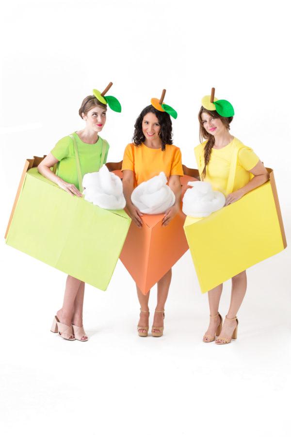 DIY Pie Slice Costumes