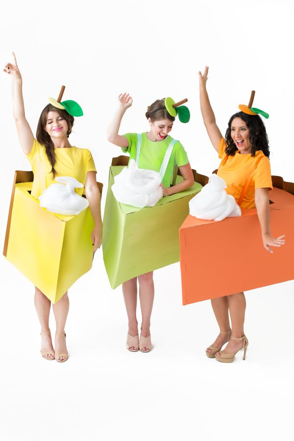 DIY Pie Slice Costumes