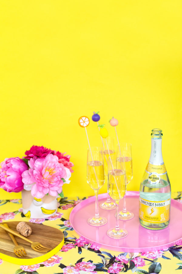 DIY Fruit Drink Stirrers | studiodiy.com