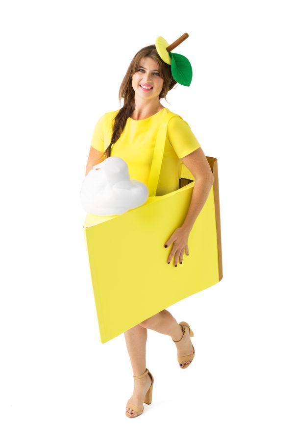 DIY Lemon Meringue Pie Costume