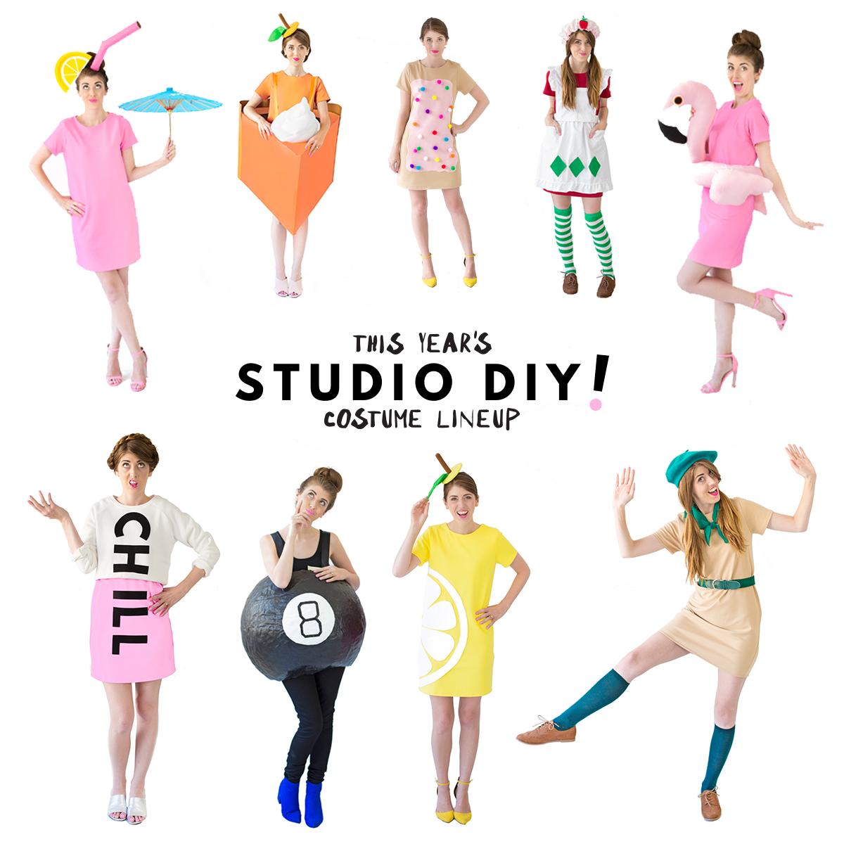 Our 2016 Diy Costume Lineup Studio Diy