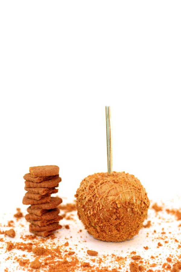 Cookie Butter Caramel Apple