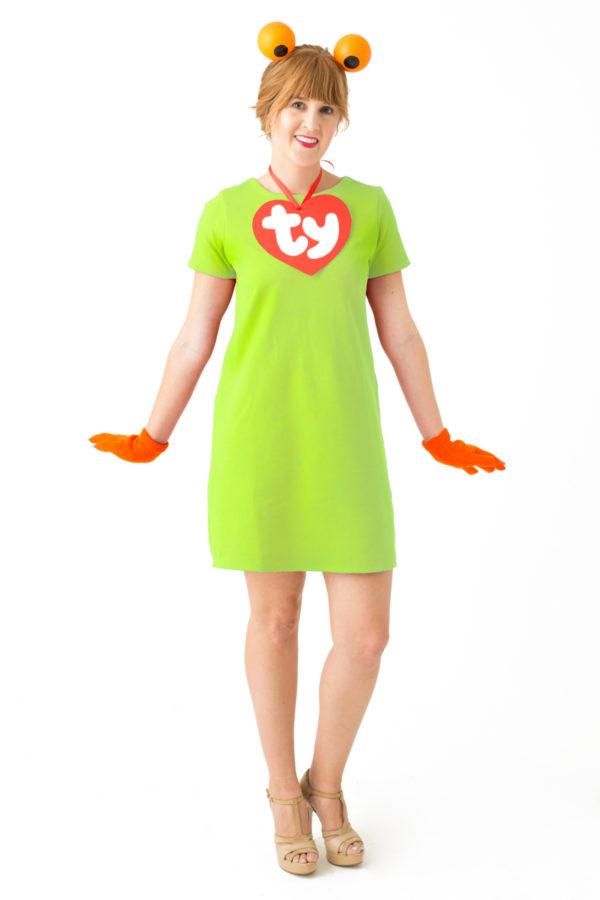 DIY Beanie Baby Costume