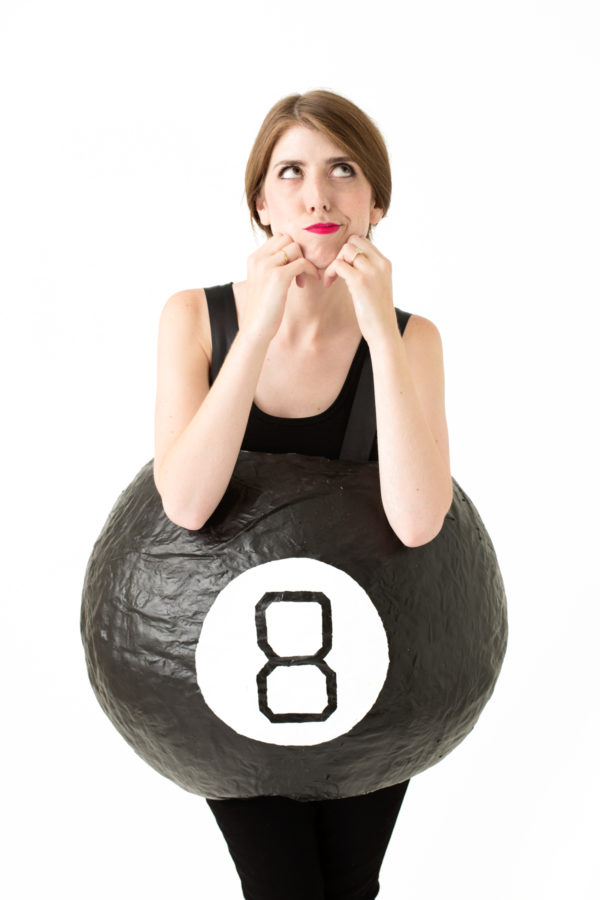 DIY Magic 8 Ball Costume