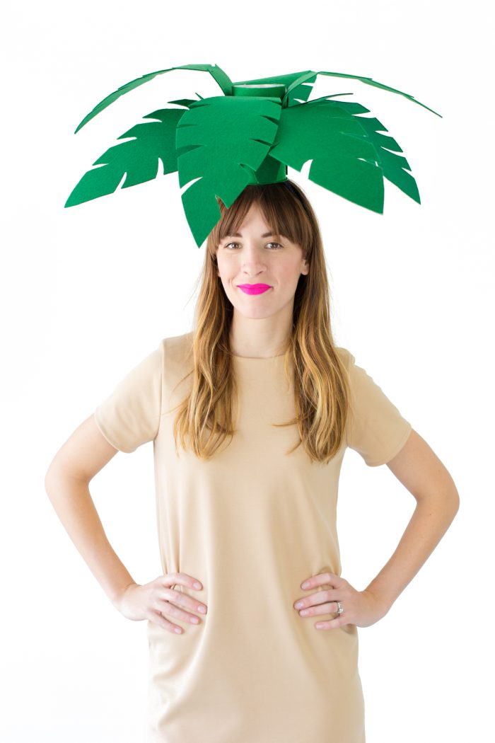 DIY Palm Tree Costume
