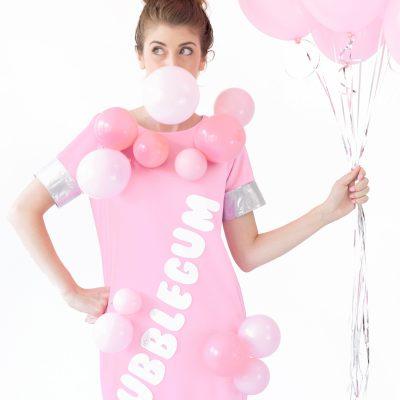 DIY Bubblegum Costume